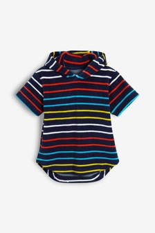 Stripe Poncho (3mths-8yrs)