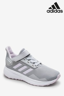 adidas Run Grey Duramo 9 Junior Trainers