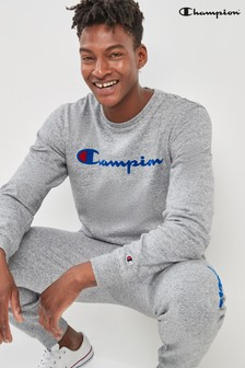 Champion Timeless Logo Crew Sweater
