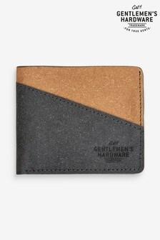Gentlemen's Hardware Recycled Leather Bi Fold Wallet