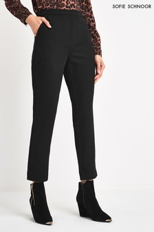 Sofie Schnoor Black Slim Trousers