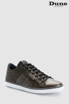 Dune Grey Tobey Casual Cup Sole Sneaker