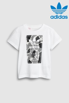 adidas Originals White Camo Tee