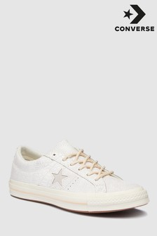 Converse One Star in Schlangenoptik