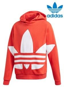 adidas Originals Red Big Trefoil Hoody