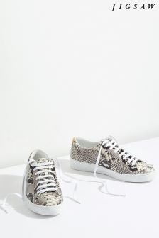 Jigsaw Animal Amour Lace Up Trainer