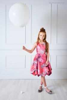 Angel & Rocket Pink Floral Dress