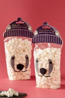 2 Pack Polar Bear Marshmallows