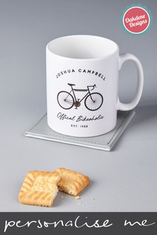Personalised Bikeoholic Cycling Mug by Oakdene Designs