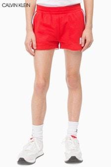 Calvin Klein Jeans Girls Mesh Monogram Shorts
