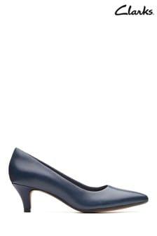 Clarks Blue Linvale Jerica Shoe