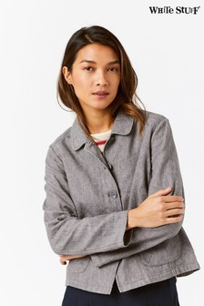 White Stuff Grey Melody Jacket
