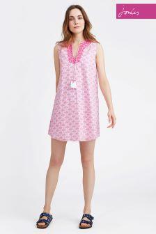 Joules Pink Daisy Foulard Orianne Tunic