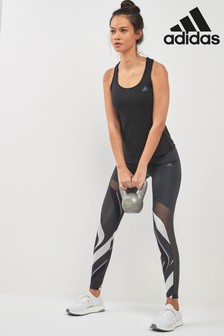 adidas Grey Print Ultimate High Rise Tight