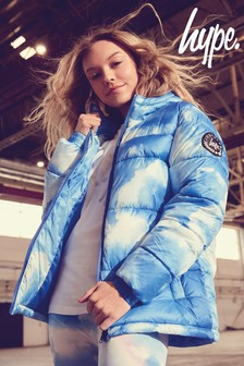 Hype. Blue Clouds Padded Jacket