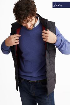 Joules Black Go To Gilet
