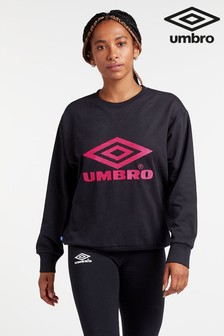 Umbro Logo Crew Sweater