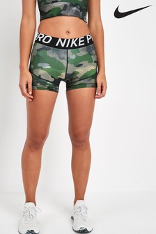 "Nike Pro Gold Tone Camo 3"" Training Short"