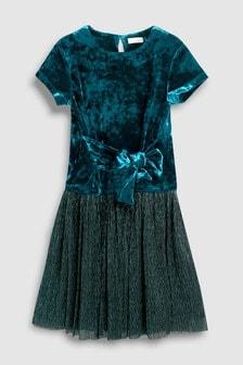 Velour Dress (3-16yrs)