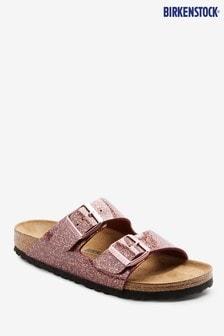 Birkenstock® Purple Arizona Cosmic Sparkle Sandals