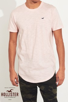 Hollister Pink Short Sleeve Icon Tee
