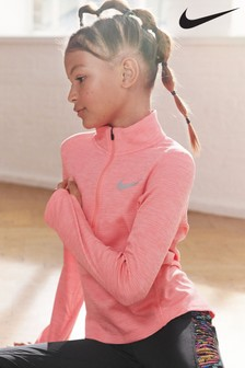 Nike Long Sleeve Half Zip Running Top