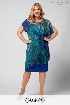 Live Unlimited Kalediscope Print Dress