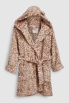 Leopard Print Robe (3-16yrs)