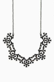 Floral Sparkle Necklace