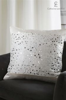 Catherine Lansfield Glitzy Cushion