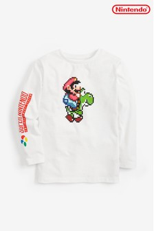 Nintendo® Print Long Sleeve T-Shirt (3-14yrs)