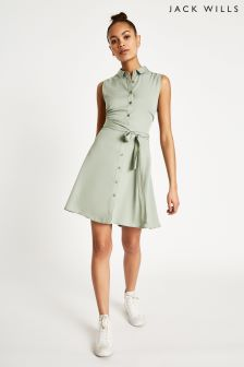 Jack Wills Oakham Tie Shirt Dress