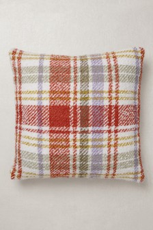 Neppy Woven Check Cushion
