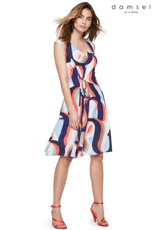 Damsel In A Dress Multi Caprice Printed Dress