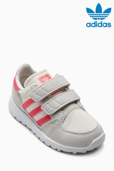 adidas Originals Grey/Pink Oregon Velcro
