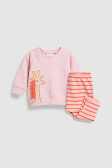 Sweat Top And Leggings Set (0mths-2yrs)