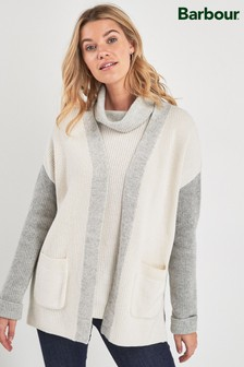 Barbour® Coastal Cream Contrast Dipton Cardigan