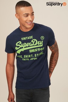 Superdry Navy Shirt Shop Script T-Shirt