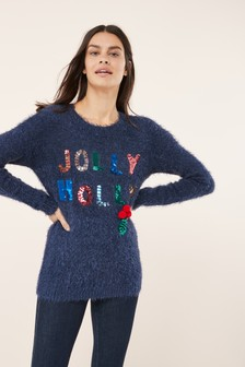 Jolly Holly Christmas Sweater