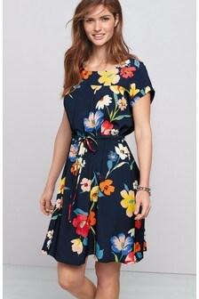שמלת חולצת טי עם שרוך הידוק