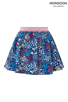 Monsoon Navy Ada Horse Skirt