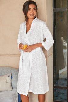 Cotton Paisley Robe