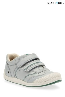 Start-Rite Grey Tough Bug First Shoe