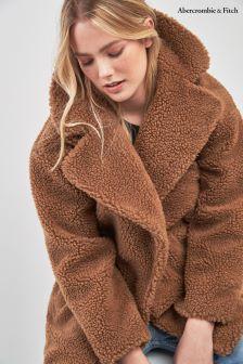 Abercrombie & Fitch Light Brown Gigi Coat
