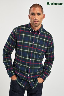Barbour® Navy Highland Shirt
