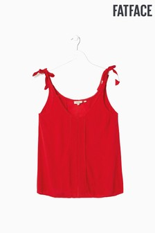 FatFace Red Sally Cami