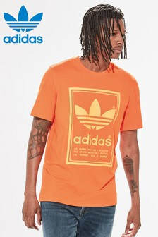 adidas Originals Orange Vintage Tee