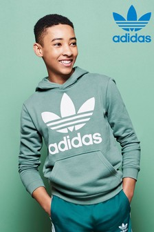adidas Originals Green Trefoil Hoody