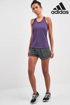 adidas Weiche 2-in-1-Shorts, grau
