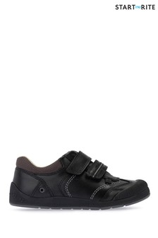 Start-Rite Black Tough Bug First Shoe